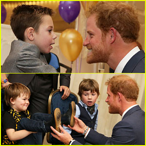 Prince Harry Meets with Winners of WellChild Awards 2016