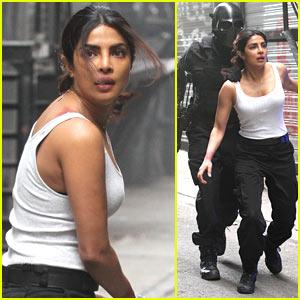 Priyanka Chopra Films an Intense Scene for 'Quantico' Season 2!