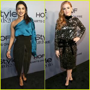 Priyanka Chopra & Isla Fisher Stun at InStyle Awards 2016