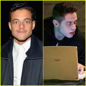 Rami Malek Reacts to Funny 'Mr. Robot' Sketch on 'SNL'!