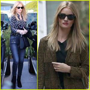 Rosie Huntington-Whiteley Keeps It Stylish While Out in LA