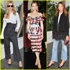 Rosie Huntington-Whiteley, Sara Foster & More Get Glam At CFDA/Vogue's Fashion Fund Show!