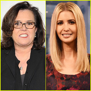 Rosie O'Donnell Tweets at Ivanka Trump After Their Encounter