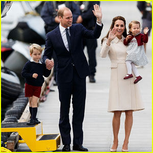 Prince William & Kate Middleton Wave Goodbye to Canada With Prince George & Princess Charlotte!