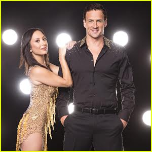 Ryan Lochte Goes Shirtless for the Salsa on DWTS - Watch Now!