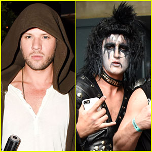 Ryan Phillippe Finds the Force & Miles Teller Rocks Out at Just Jared's Halloween Party!
