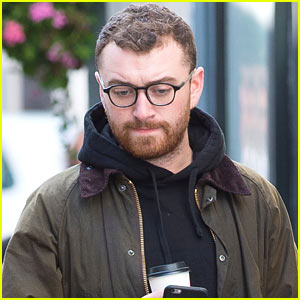 Sam Smith Hangs Out with Adam Lambert in London! (Video)