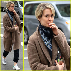 Sarah Paulson Doesn't Watch Any of Her Performances Anymore!