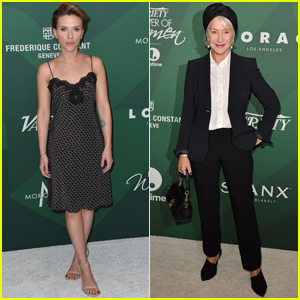 Scarlett Johansson & Helen Mirren Step Out at Variety Power of Women Luncheon