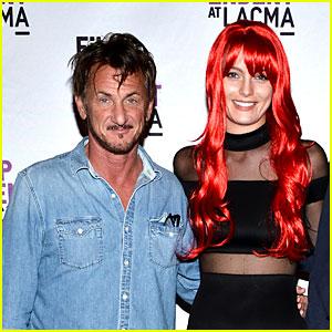 Sean Penn & New Girlfriend Leila George Make Red Carpet Debut!
