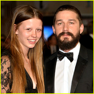 Shia LaBeouf & Mia Goth Married in Las Vegas Wedding! (Video)