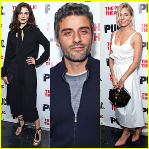 Sienna Miller & Oscar Isaac Support Rachel Weisz At 'Plenty' Opening Night!