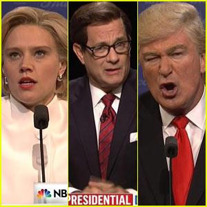 SNL Mocks Final Presidential Debate with Host Tom Hanks as Moderator - Watch!