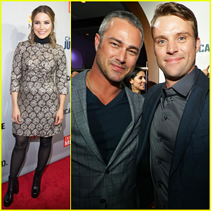 Sophia Bush Lives It Up with Taylor Kinney & Jesse Spencer At 'One Chicago Day' Party!