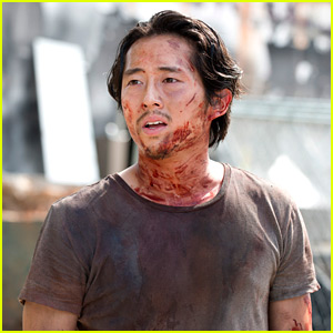 Steven Yeun Reacts to Glenn's Fate on 'Walking Dead' (Spoilers)