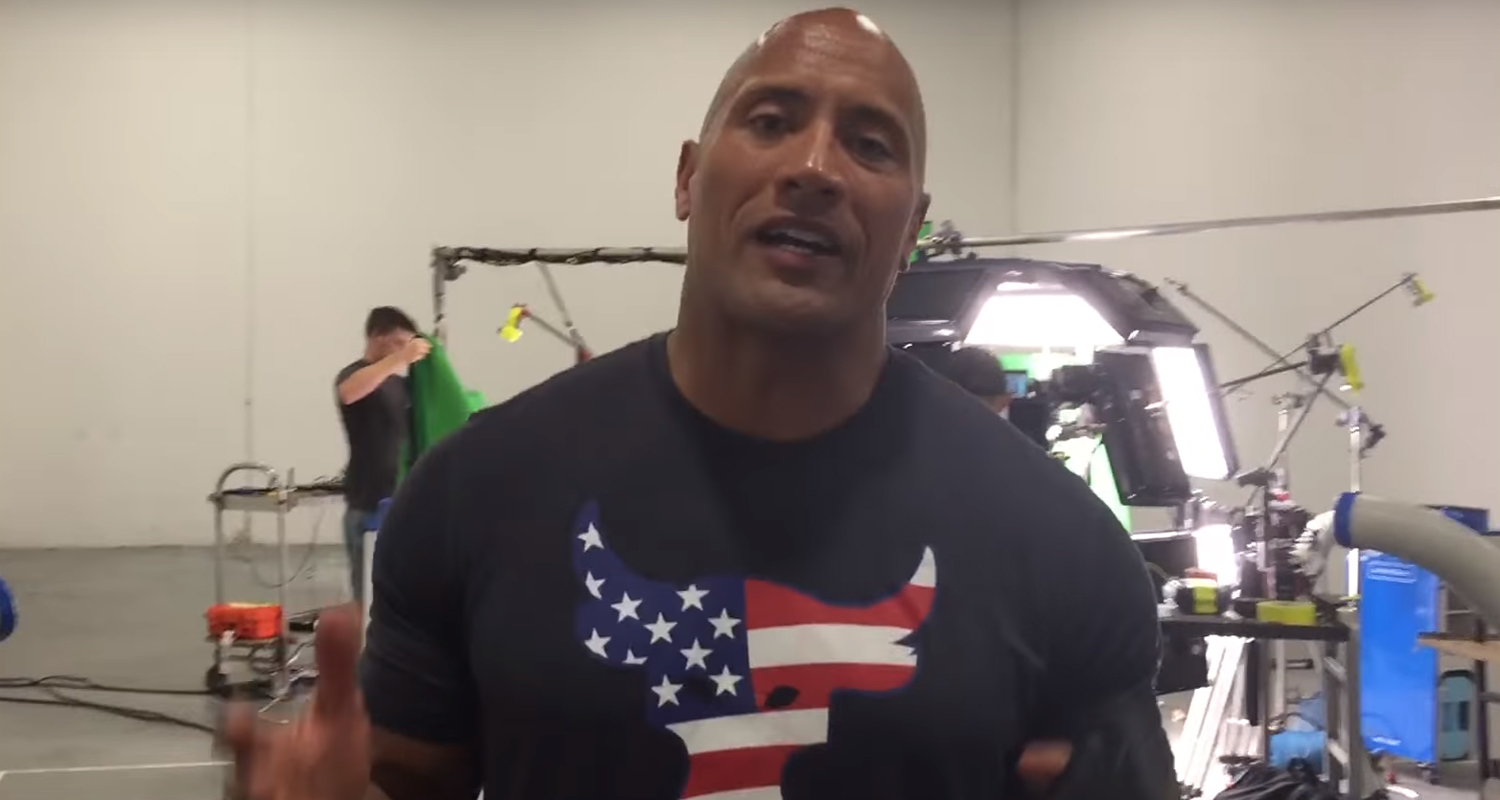 Dwayne Johnson Wrote a Song to Encourage People to Register to Vote