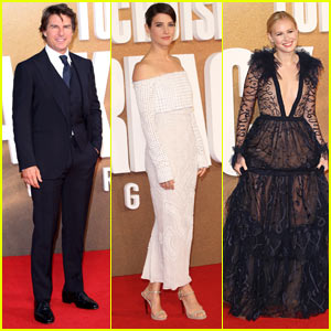 Tom Cruise & Cobie Smulders Stun at the Premiere of 'Jack Reacher: Never Go Back' in London!