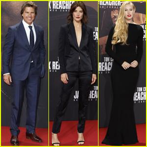 Tom Cruise & Cobie Smulders Bring 'Jack Reacher: Never Go Back' to Berlin