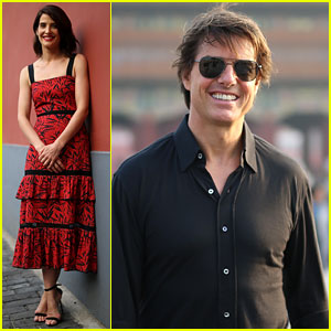 Tom Cruise & Cobie Smulders Promote 'Jack Reacher' in China