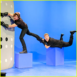 Tom Cruise & James Corden Recreate All His Movie Roles in 1 Take - Watch Now!