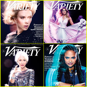 Scarlett Johansson, Laverne Cox, & More Cover Variety's Power of Women L.A. Issue