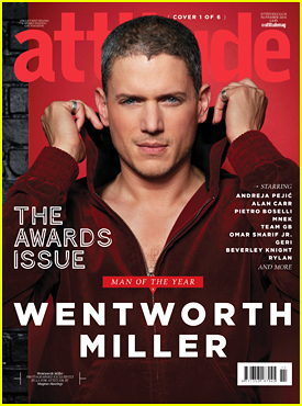 Wentworth Miller Shares Touching Message With 'Attitude' Mag: 'You'll Find Your Tribe'