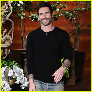 Adam Levine & Ellen DeGeneres Scare Her Audience in the Bathroom - Watch Now!