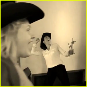 VIDEO: Adele's Mannequin Challenge Has Western Theme!