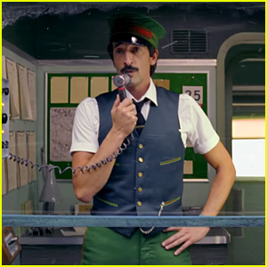 VIDEO: Adrien Brody Stars in H&M's Christmas Film Directed by Wes Anderson!