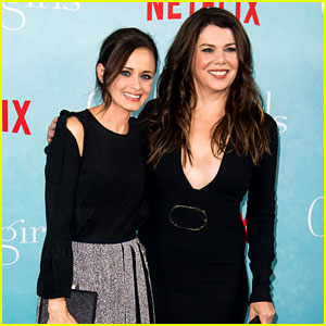Alexis Bledel Accidentally Reveals a 'Gilmore Girls' Spoiler!