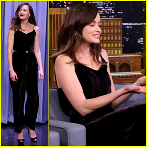 VIDEO: Alexis Bledel Tells Jimmy Fallon Her Top Four 'Gilmore Girls' Characters!