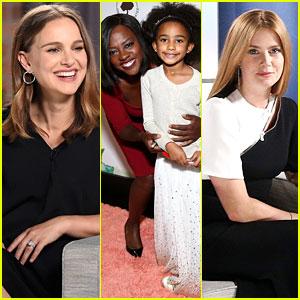 Natalie Portman, Viola Davis, & Amy Adams Speak at Variety's Actors on Actors Event