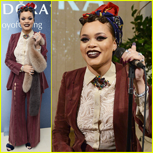Andra Day Releases New Holiday EP, 'Merry Christmas From Andra Day'!