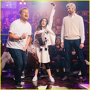 VIDEO: Anna Kendrick, Billy Eichner & James Corden Perform Soundtrack To Growing Up Medley!
