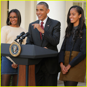 Barack Obama Shares What He Told His Daughters About Donald Trump's Win