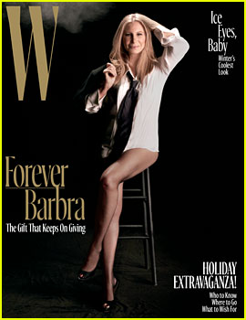 Barbra Streisand, 74, Is Flawless for 'W' Magazine!