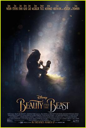 Emma Watson & Dan Stevens Dance Away on New 'Beauty & The Beast' Poster