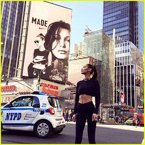 Bella Hadid Announces Nike Collaboration!