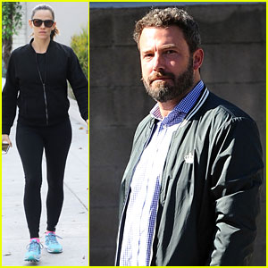 Ben Affleck & Jennifer Garner Take Their Son to Breakfast
