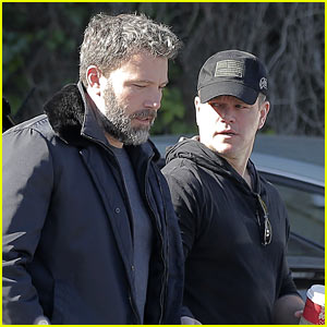 Ben Affleck & Matt Damon Step Out Ahead of the Premiere of Their New Show 'Incorporated'