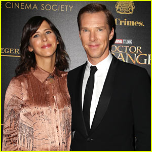 Benedict Cumberbatch Attends Special Screening of 'Doctor Strange' in NYC!