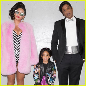 Beyonce & Jay Z Go Vintage Barbie With Blue Ivy For Halloween!