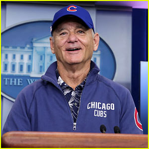 Bill Murray Gives His Ticket to Game Six of World Series to Fellow Cubs Fan!