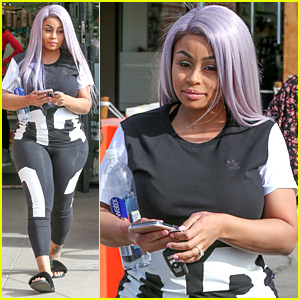 Blac Chyna Steps Out Days After Giving Birth to Dream