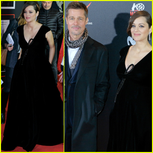 Brad Pitt & Marion Cotillard Bring 'Allied' to Spain