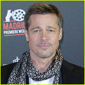 Brad Pitt Spent Thanksgiving in Turks & Caicos with a Friend