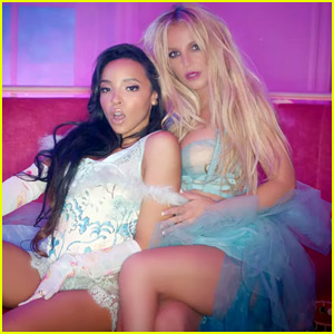 Britney Spears & Tinashe Get Cozy in 'Slumber Party' Video - WATCH NOW!