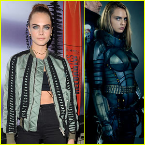 Cara Delevingne Is Ready For Battle In New Valerian Pics Cara