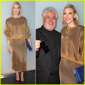 Cate Blanchett Shines at Pedro Almodovar Retrospective in NYC