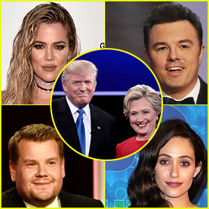 Celebs Are Freaking Out Over Election's Super Close Results